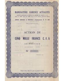 Manufacture Florence Actualités (textile)