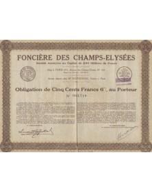Foncière des Champs-Elysées