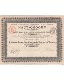 Sté Commerciale, Industrielle et Agricole du Haut-Ogooué