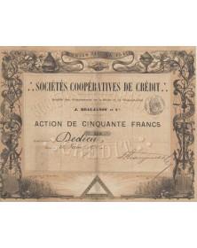 Sociétés Coopératives de Crédit, Sté des Départements de la Seine et Seine-et-Oise J. Beaujanot et Cie