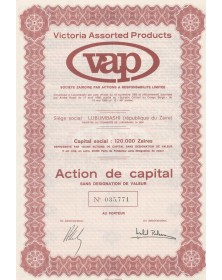 Victoria Assorted Products (VAP)