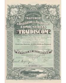 Sté Africaine de Traitement de Distillation, de Traitement et de Recherche de Combustibles (TRAIDISCOM)