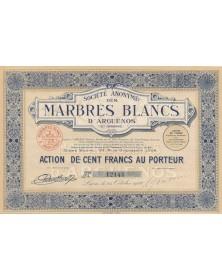 S.A. des Marbres Blancs d'Arguenos (Haute-Garonne)