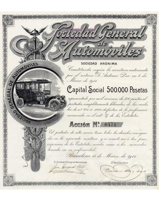 Sociedad General de Automoviles