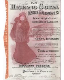 La  Hispano Suiza - Fabrica de Automoviles