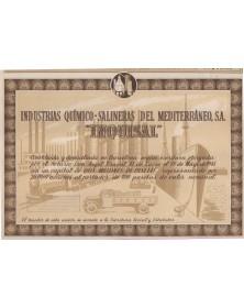 Industrias Quimico-Salineras del Mediterraneo INQUISAL