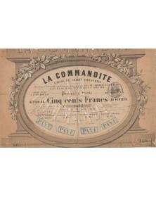 La Commandite, Caisse de Crédit Industriel, F.P. Taupin & Cie