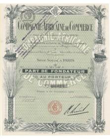 Cie Africaine de Commerce (Anciens Ets A. Lecomte)