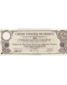Crédit Foncier de France - Emprunt Foncier de 900 millions 3% 1883