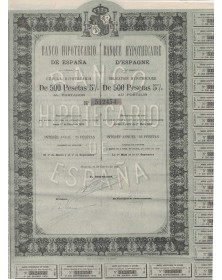 Banque Hypothécaire d'Espagne - Banco Hipotecario de España
