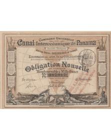 Canal Interocéanique de Panama