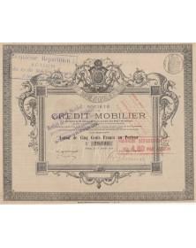 Sté de Crédit Mobilier