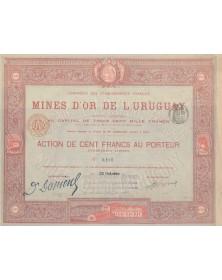 Cie des Ets Français des Mines d'Or de l'Uruguay