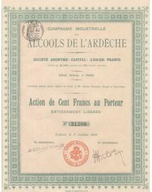Cie Industrielle des Alcools de l'Ardèche
