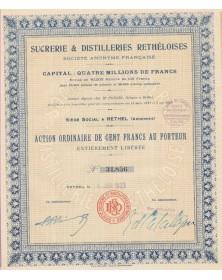 Sucrerie & Distilleries Rethéloises (Ardennes)