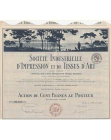 Sté Industrielle d'Impression et de Tissus d'Art (Procédés Marc Fay)