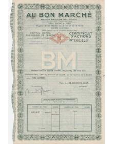 """Au Bon Marché """"Maison Aristide Boucicaut"""" Paris"""