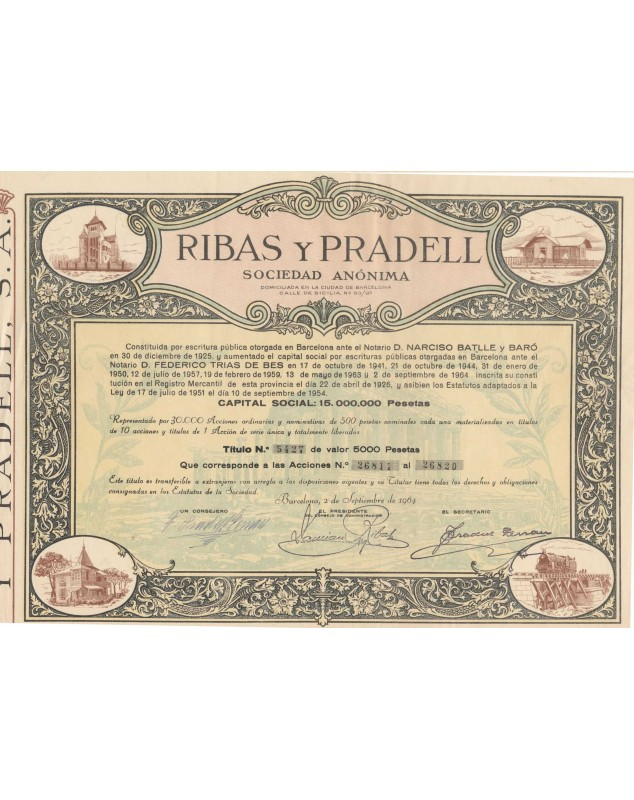 Ribas y Pradell S.A.
