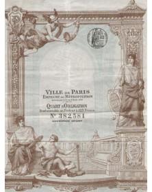 Ville de Paris - Emprunt Métropolitain