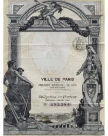 Ville de Paris - Emprunt Municipal, 1875