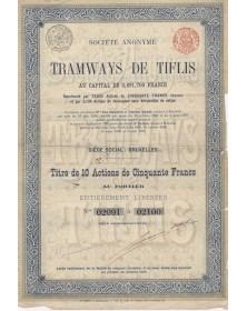 Sté des Tramways de Tiflis