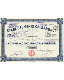 Etablissements Caillard & Cie.