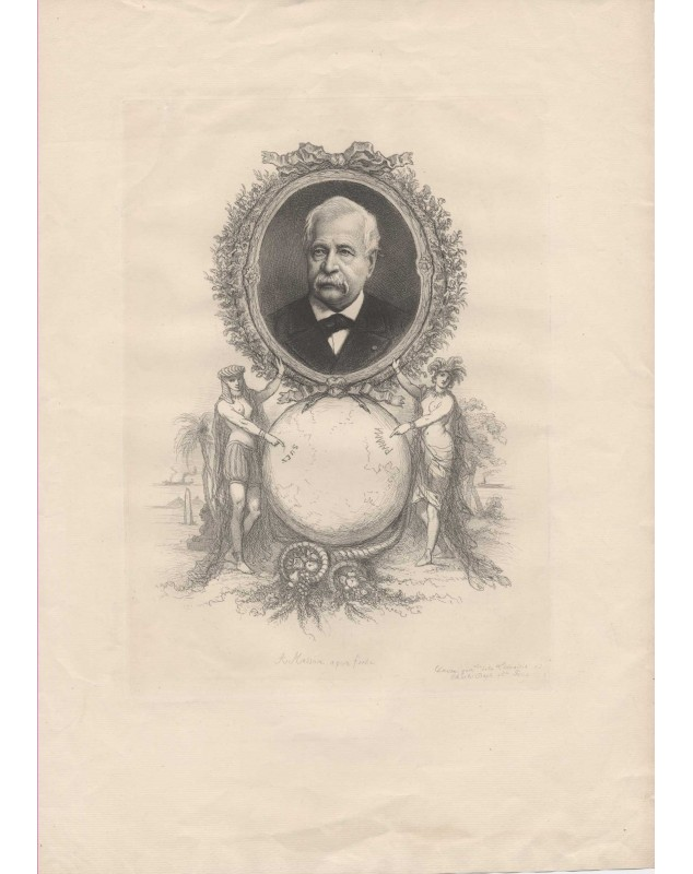 Portrait de Ferdinand de Lesseps