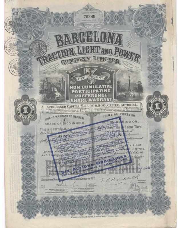 Barcelona Traction, Light & Power Co. Ltd.