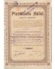 Hallet Plantations (Indochina)