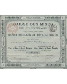 Caisse des Mines et des Charbonnages, Cie Générale du Crédit Houiller et Métallurgique