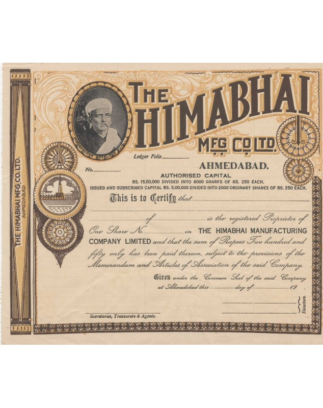 The Himabhai Mfg. Co. Ltd. Ahmedabad