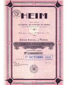 HEIM S.A. (Fourrures et Manteaux)