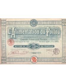 L'Alimentation du Poitou