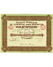 """Sté Française de la Montre Sans Remontoir """"HARWOOD"""""""