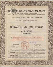 "S.A. ""Chocolat Normandy"""