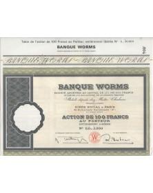 Banque Worms
