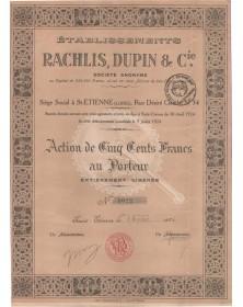 Ets Rachlis, Dupin & Cie