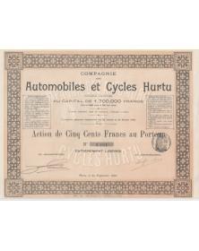 Cie des Automobiles et Cycles Hurtu