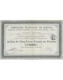 Cie Française de Segovia, Cristales, Santiago, etc. (Département d'Antioquia, Colombie)