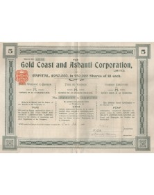 The Gold Coast and Ashanti Corp. Ltd.