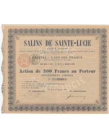 Salins de Sainte-Lucie S.A.