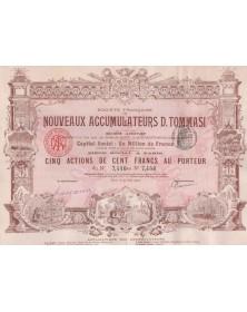 Sté Française des Nouveaux Accumulateurs D. Tommasi