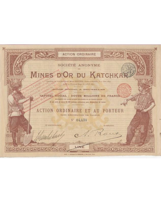 S.A. des Mines d'Or du Katchkar