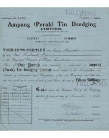Ampang(Perak) Tin Dredging,Ltd