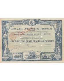 Cie Lyonnaise de Tramways Omnibus-Tramways