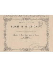 S.A. du Marché du Prince-Eugène Paris XIème arrdt.