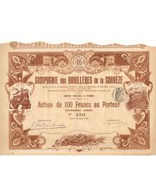 Cie des Houillères de la Corrèze