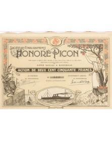 Sté des Ets Honoré Picon Bordeaux