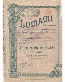Cie du Lomami, S.A. Belge