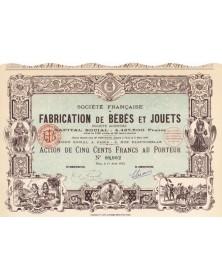 Sté Française de Fabrication de Bébés et Jouets S.A.